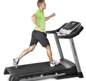 Treadmill with Heart rate monitor for assessment